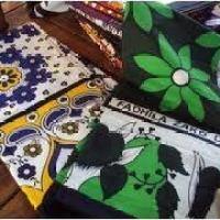 Tissu d'Afrique # 1: Le kanga (khanga/lesso/lamba)