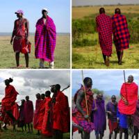 Tissu d'Afrique # 4: la Shuka Masai