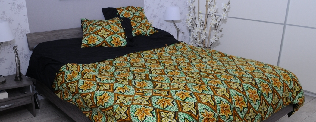 wax n d co linge de maison en wax african fashion design. Black Bedroom Furniture Sets. Home Design Ideas