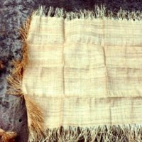 Tissu d'Afrique # 13: Le raphia (ou raffia)
